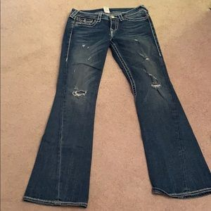 True Religion Rainbow Joey jeans